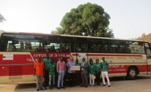 Orabank Donates 2,5 Million CFA to the DNS Teacher Training College